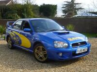 2005 55, Subaru Impreza WRX TURBO saloon ++ 1 OWNER FROM NEW + NON MODIFIED
