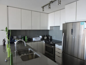 Brand new beautiful apartment at SFU. Fully furnished.