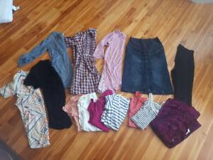 Maternity clothes size small/medium