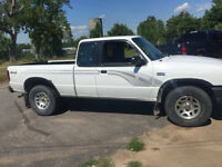 1997 Mazda B4000 ext cab 4x4 cert and etested