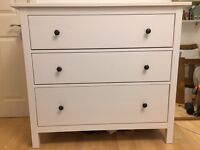 IKEA Hemnes Chest of Three Drawers - *SOLD awaiting collection*