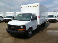 "2015 GMC Savana 16"" Cube Vans"