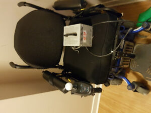 Used motorized plus size wheelchair for sale