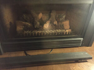 Propane/Electric Fireplace