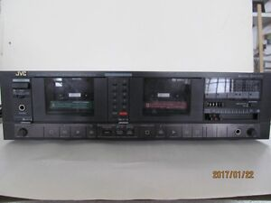 JVC and Optonic sterio cassette decks