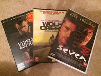 DVD movies - seven