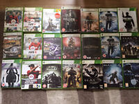 Job lot of Xbox 360's Greatest Games