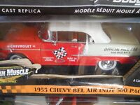 1955 Chevy Bel Air Indy 500 Pace Car 1:18 Diecast