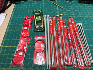 16 pairs of Knitting needles