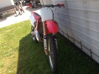 2002 cr 125 mint condition