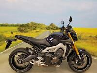 Yamaha MT09 ABS 2014 **RENTHAL BARS, HEATED GRIPS, SCREEN, MT ALLOY CHAIN GUARD*