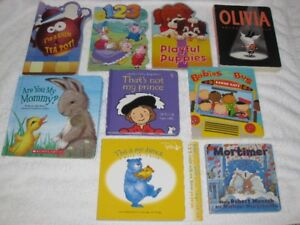 CHILDREN'S BOARDBOOKS - GREAT SELECTION -**SPECIAL SALE**