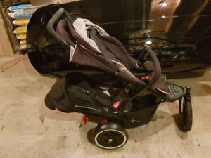 Phil and Ted's Dot jogger (double) stroller