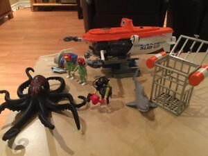Playmobil — Sous marin de recherche 4473