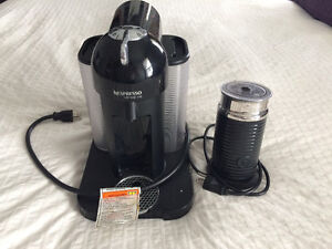 Nespreaso Vertuoline and frother