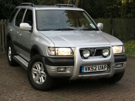 **PX BARGAIN**Vauxhall Frontera 2.2DTi Limited**LOW MILEAGE**DIESEL 4x4**