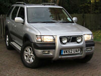 **GOING TO AUCTION ON MONDAY!!**Vauxhall Frontera 2.2DTi Limited*NEW MOT*