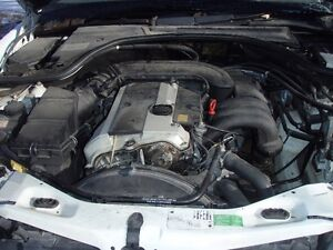 M B S320, engine, 1998, 195k, parting out complete car