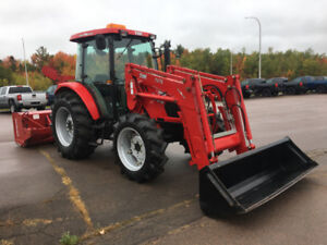TYM T754 with 86 inch Commercial Snowblower