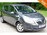 2011(11) VAUXHALL MERIVA 1.4 EXCLUSIV 5D 119 BHP 65MPG. HIGH SPEC!