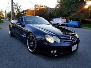 2002 Mercedes-Benz SL-Class Convertible