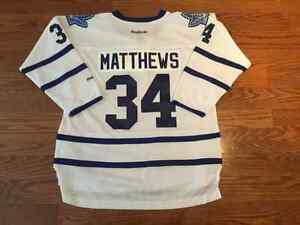 BNWT Brand New White Austin Auston Mathews Youth Jersey