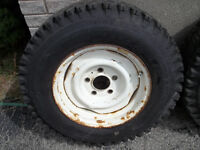 1960-70`sGm steel wheels and tires