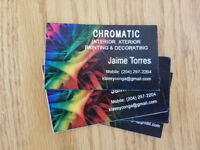 Call Cromatic painting for your Painting needs, drywall,taping