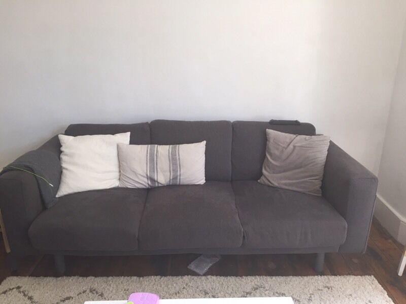 Ashley Furniture Leather Sofa Ikea Norsborg Sofa | in Stoke Newington, London | Gumtree