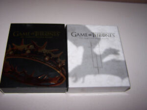 GAME OF THRONES- Complete Season 2 &3 - Blue Ray Disc