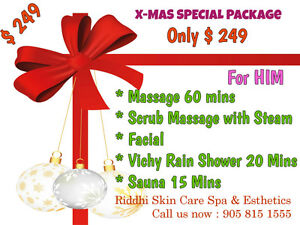 Massage,Waxing cristmas Gift Card/Certificate**Free delivery** Cambridge Kitchener Area image 7
