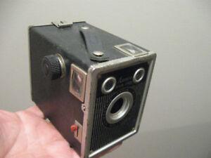 VINTAGE TOWER BOX CAMERA. One Twenty Flash - By Sears