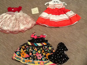 Various baby clothing for girls 3-24 months, $1-5 ea.