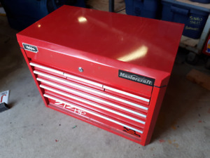 Heavy Duty Red Mastercraft Toolbox