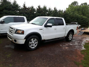 2008 Ford F-150 SuperCrew Fx4 Pickup Truck