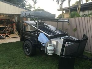 Custom camper trailer gas hot water solar GET OFF THE GRID Albany Creek Brisbane North East Preview
