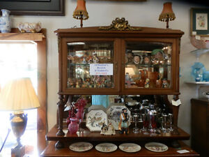 Antique mahogany and ormalou mount display cabinet, circa 1900. Kitchener / Waterloo Kitchener Area image 1