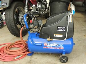 Air Compressor 2HP 6 Gallon