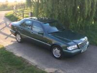 Mercedes-Benz C220 2.2 auto Elegance 1994 Malachite Green Air con 112000 miles