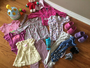 9-12 months clothes for girls