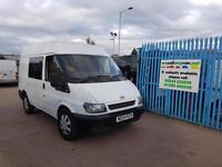 2005 FORD TRANSIT 330 SWB High Top Heavy Duty 330 Warranty AA Cover No Vat