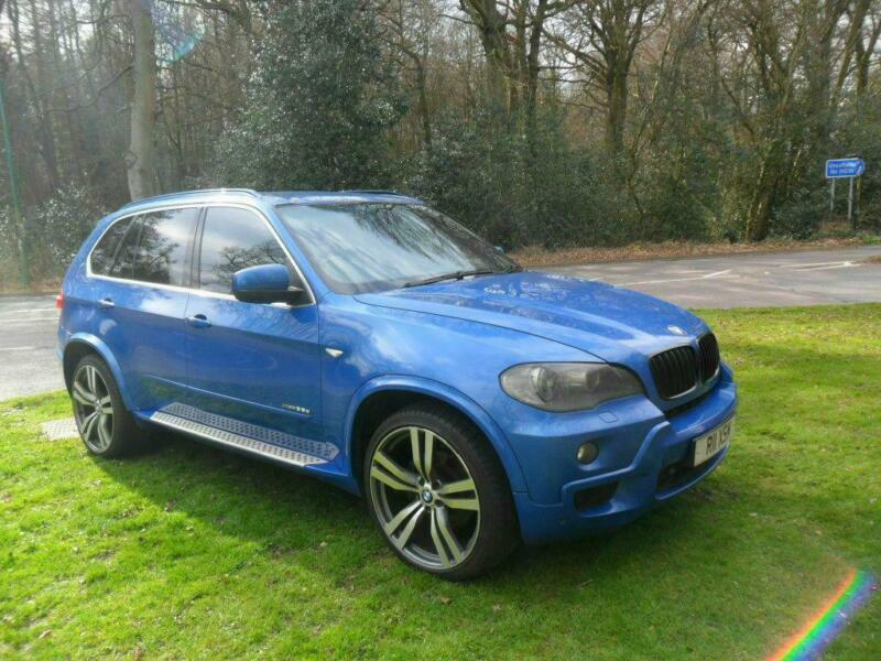 BMW X5 3.0d auto 2008 M Sport with Private plate