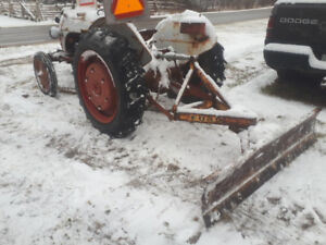plow snow with ease! save your back earn extra $$$$