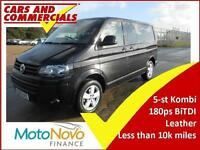 2015 VOLKSWAGEN TRANSPORTER KOMBI 180PS LEATHER