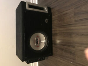 Subwoofer, Box MTX Amp sold as 1
