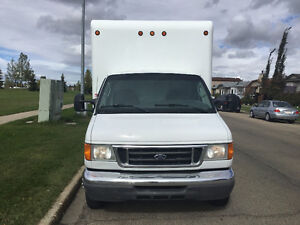 FORD F-450 16 FEET CUBE VAN FOR SALE BY OWNER