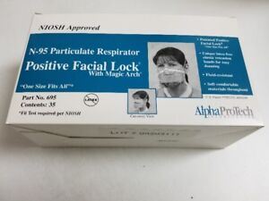 N-95 PARTICULATE RESPIRATOR , (FACIAL MASKS)  BY  ALPHA PROTECH