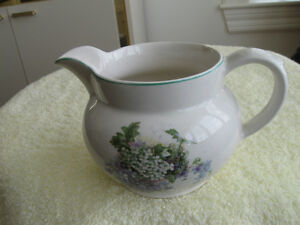 ....CHARMING OLD VINTAGE LORD NELSON WARE FLORAL JUG....