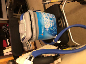 Kodiak cooling machine for knee and or hip surgery