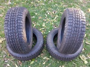 Set of 185/60R14 Firestone Winterforce Winter Tires for sale